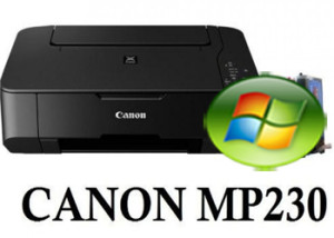 Canon MP230 Driver Windows Vista 32-64bit Descarga Gratis