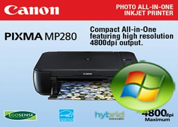 Descargar Canon MP280 Driver Windows Vista 32 64