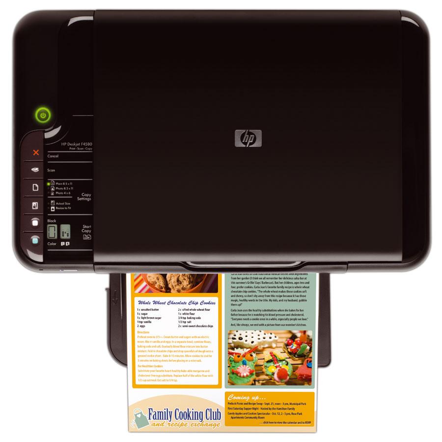 Descargar Controlador De Impresora Hp Deskjet F4480 Gratis ...