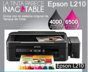 driver de epson l210 para windows 8